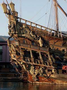 Spanish Galleon Neptune starboard gallery | Flickr - Photo Sharing!--modernknight1