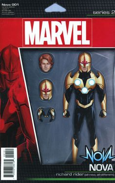 Nova Vol 7 #1 Cover C Variant John Tyler Christopher Action Figure Cover (Marvel Now Tie-In)