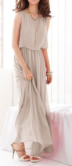 Bohenmia Chiffon Maxi Dress ♥