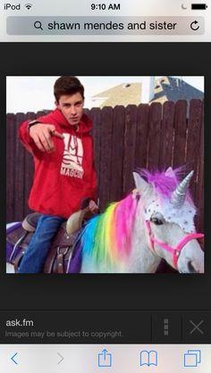 Shawn I'm a unicorn c: