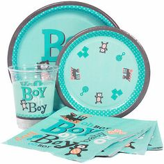 Boy Oh Boy Baby Shower Party Supplies