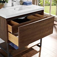 "m4 36"" Vanity - Natural Walnut - Fairmont Designs - Fairmont Designs"