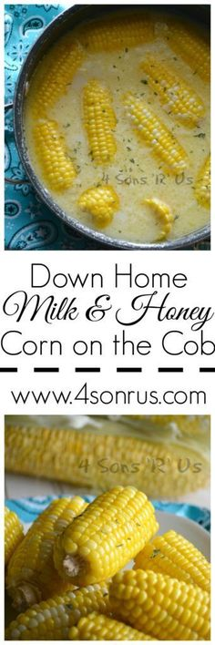 Down Home Milk & Honey Corn On The Cob Down Home Milch & Honig Maiskolben Recipes to make (Visited 1 times, 1 visits today) Side Dish Recipes, Vegetable Recipes, Fresh Corn Recipes, New Recipes, Vegetable Side Dishes, So Little Time, Soul Food, Food To Make, The Best