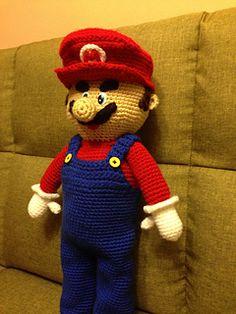 Ravelry: My Mario bros pattern by Teresa Alvarez