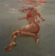 Martine Emdur is a new fav artist. Yes it is Larry's sister. Her collection can be found at the Tim Olson Gallery