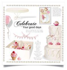 """""""Decorate a Wedding Cake"""" by ewa-naukowicz-wojcik ❤ liked on Polyvore featuring art"""