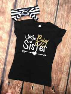 DISCOUNT code ANNABELLE15 on all Vazzie Tees purchases!  Promoted to Big Sister Shirt  Little Sister Crossed by VazzieTees