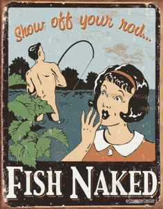 Schonberg - Fish Naked Plaque en métal