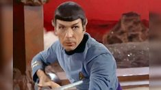 Leonard Nimoy starred in the Star Trek series as Commander Spock, the USS Enterprise's second-in-command from 1966 to 1969.