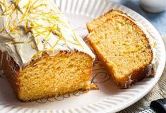 Lemon and coconut cake Candy Crash, Lemon And Coconut Cake, Food Categories, Greek Recipes, Yummy Cakes, Cupcake Cakes, Cupcakes, Banana Bread, Caramel
