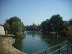 River Vrbas, Banja Luka, Bosnia