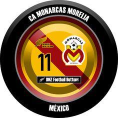 DNZ Football Buttons: CA Monarcas Morelia                                                                                                                                                                                 Mais