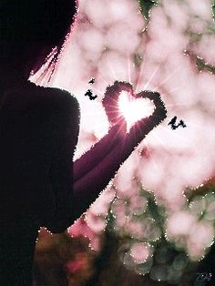 My heart is in your hands! I Love Heart, Happy Heart, Gif Animé, Animated Gif, Animation, Valentine Day Love, Valentines, Heart In Nature, Les Gifs