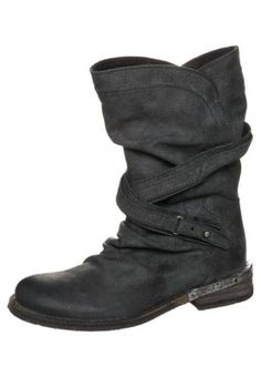 DRIVE - Cowboy-/ Bikerstiefeletten - zenia black Ugg Boots, Avon, Uggs, Biker, Shoes, Black, Fashion, Zapatos, Moda