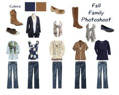 Fall Family Picture Clothing Ideas