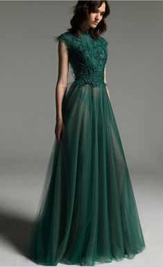 Charming Dark Green Tulle Prom Dress,Sleeveless Long Evening Dress,See Through Prom Gown Charming dark green tulle evening dress, sleeveless long evening me the too funding Tulle Prom Dress, Grad Dresses, Prom Party Dresses, Bridesmaid Dresses, Formal Dresses, Modest Prom Dresses, Wedding Dresses, Pretty Dresses, Beautiful Dresses