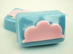 Cotton+Candy+Clouds+++Goat's+Milk+Soap+Bar+by+soapopotamus+on+Etsy,+$4.00