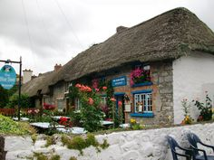 tiny homes north ireland | Thatched-roof cottages