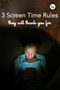 They are the 3 screen time rules that made the biggest difference.