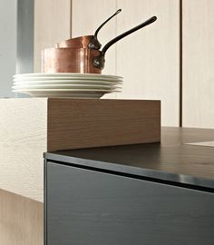 Cute Discover all the information about the product Oak storage cabinet for kitchen PENTHOUSE HAMBURG eggersmann k chen GmbH u Co