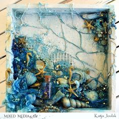 Mixedmedia shadowbox