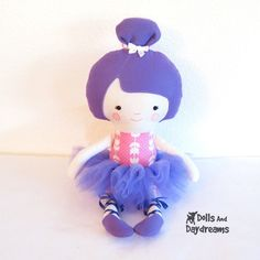 Dolls And Daydreams / Ballerina Sewing Pattern