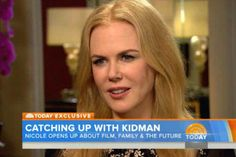 Nicole Kidman opens up about her personal life with Maria Shriver.