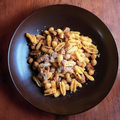 "As co-chefs at Hog & Hominy in Memphis, Michael Hudman and Andy Ticer see each other daily, but the old friends still cook together on days off. ""Andy does the steak,"" says Hudman, ""and I do the pasta. Pasta Recipes, Dinner Recipes, Cooking Recipes, Dinner Ideas, Fall Recipes, Chorizo Recipes, Recipe Pasta, Veg Recipes, What's Cooking"