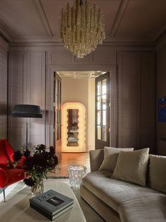 Pierre Jeanneret, Flack Studio, Interior Architecture, Interior Design, Melbourne House, Vogue Living, Lounge, Dream Apartment, Warehouse Apartment
