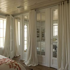 Style Guide: Bedroom Window Treatments | Long Drapery | SouthernLiving.com