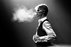 David Bowie, 1976 by Andrew Kent.