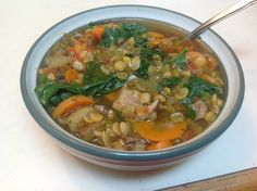 Chef AJ's Split Pea Soup | Eat Well, Stay Well