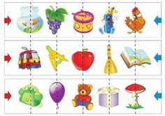 Kartynky Preschool Learning, Speech Therapy, Pre School, Puzzles, Worksheets, Creative, Facebook, Teaching Supplies, Childhood Education