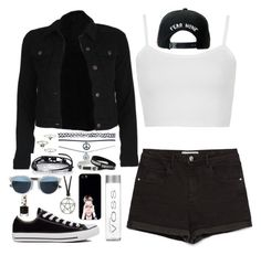"""I want summer :("" by semmaos ❤ liked on Polyvore featuring Zara, Wet Seal, Footnotes Too, Topshop, Trukfit, Converse, Samsung, Christian Dior, women's clothing and women's fashion"