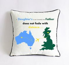 long distance fathers day pillow sham-fathers day by Pillow6218