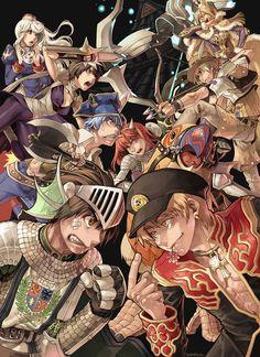 Ragnarok Online promotional illustration