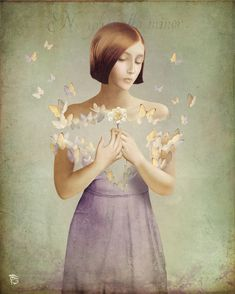 he loves me... he loves me not by Christian  Schloe on artflakes.com as poster or art print $18.03