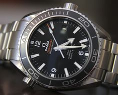 Omega Seamaster Planet Ocean Co-Axial Chronometer Watch Review