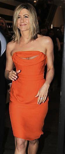 Vivienne Westwood sexy orange dress