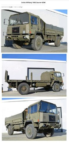 Bid for the chance to own a Swiss Military 1985 Saurer at auction with Bring a Trailer, the home of the best vintage and classic cars online. Gifts For Campers, Camping Gifts, Hydraulic Winch, Expedition Vehicle, 4x4 Trucks, Classic Cars Online, Camping Accessories, Military Vehicles, Monster Trucks
