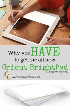 Cricut BrightPad = LOVE All the reasons I love my new cricut brightpad and why you should get one too!