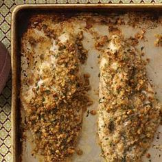 Cajun Pecan Catfish Recipe. Update: boyfriend made this for dinner and it was delicious!!!