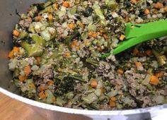 Mistura de legumes deliciosa para seu pet (Foto: Daniela Meira/ TV Globo)