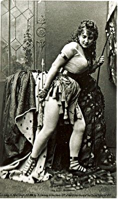 """Adah Isaacs Menken, once called """"the most dangerous woman in the world"""" just before the outbreak of the American Civil War."""