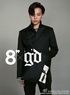 """Updated!: G-Dragon for Clothing Brand """"8 Seconds"""" [PHOTO] - bigbangupdates"""