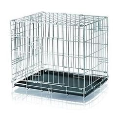 Trixie 3922 Transportkäfig x 54 x 48 cm) Bench, Shopping, Kennel, Products, Expositions, Pomeranian, Material, Galvanized Metal, Dog Cat
