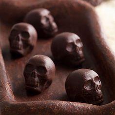 skull chocolates