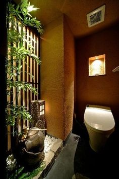 Japanese style bathroom wish I had that in my house!!!!