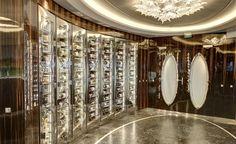 Wine Vault in Portraits Restaurant. Photo © The World