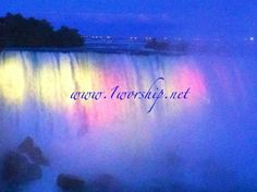 Waterfall Blessings @ www.1worship.net  Let them flow!
